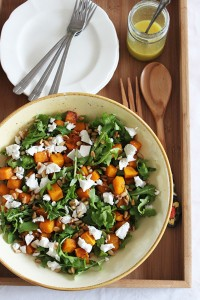 Roast-pumpkin-avo-and-feta-salad